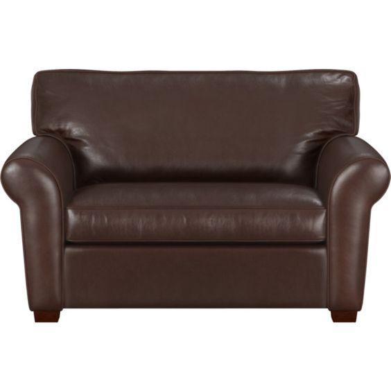 Carlton Leather Twin Sleeper Sofa Chaise Me And Cuddle