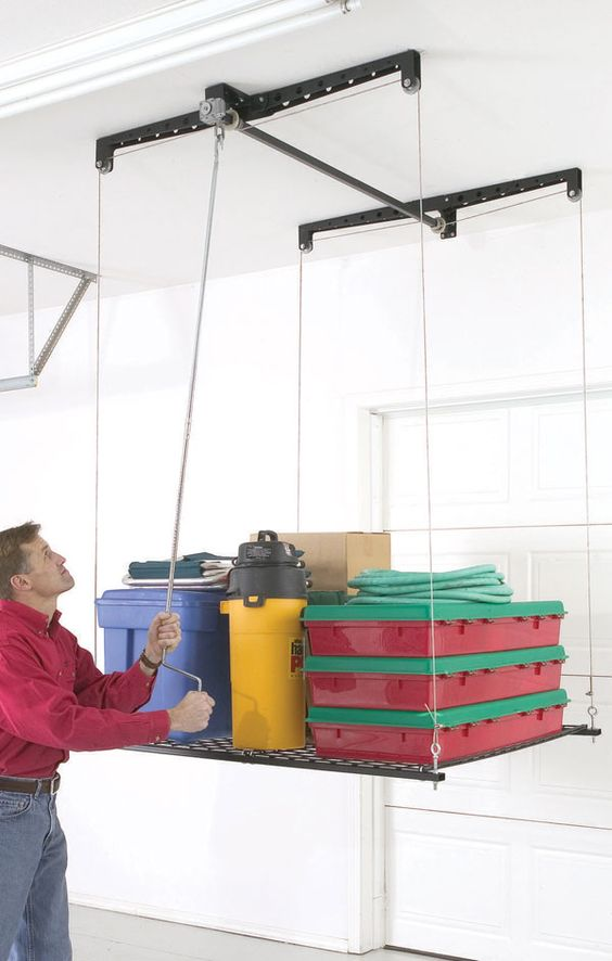 Racor Phl 1r Heavylift Garage Storage System Smarthome