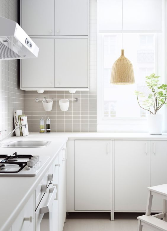 Küche Ikea Fyndig Fyndig Kitchen With White Doors/drawers And Worktop