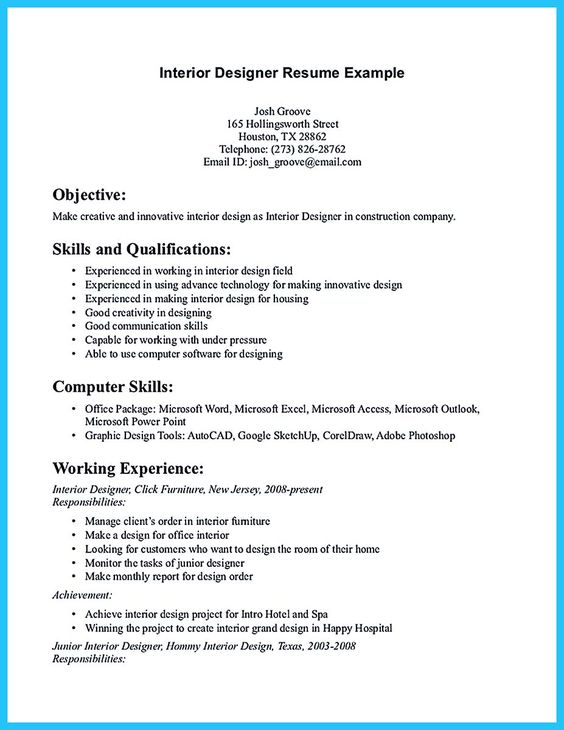 Interior Design Resume Layout 1000 Ideas About Interior - interior design resume templates