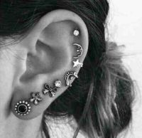 Cute earrings, The ear and Ears on Pinterest