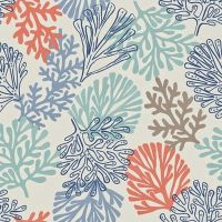 1000+ ideas about Coral Fabric on Pinterest | Premier ...