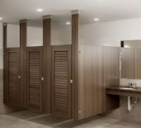 custom wood restroom partitions   Ironwood Manufacturing ...
