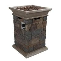 Corinthian Propane Gas Fire Pit Column-66597 at The Home ...