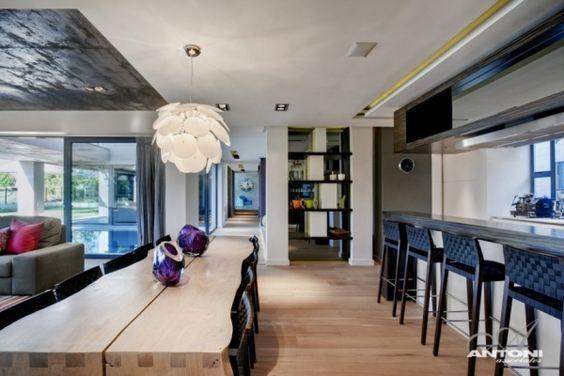 Luxus Küche Moderne Designer Wohnung In Cape Town Tisch   Kuche Luxus