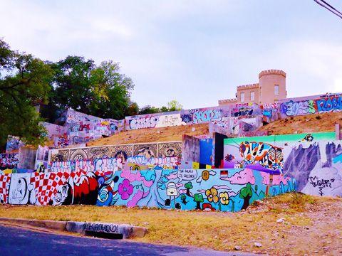 Baylor Street Art Wall Austin Texas Google Search