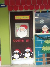 Santas workshop, Workshop and Doors on Pinterest