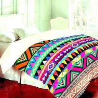 Tribal bedding, Colorful bedding and Bedding on Pinterest