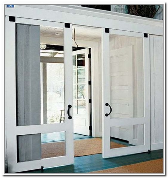 Sliding French Patio Doors With Screens