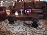 warehouse industrial cart coffee table | Home sweet Home ...