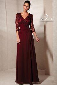 long sleeve evening gowns | Elegant Long Sleeve Evening ...