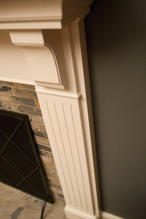 Fluted Columns Fireplace Mantels And Mantels On Pinterest