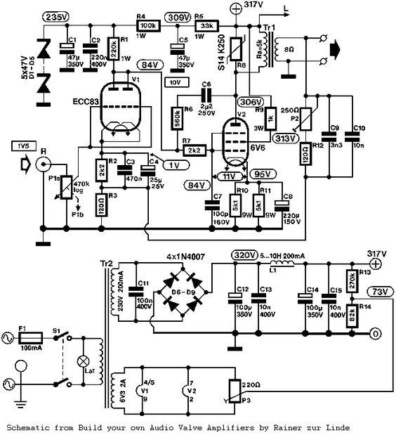 radio schematics build your own