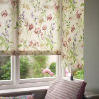 Cottage Garden Roller Blind | Gardens, Window treatments ...