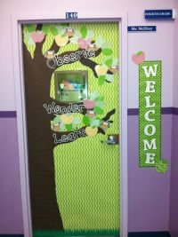 Observe Wonder Learn Classroom Door Decoration   For the ...