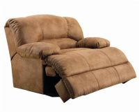 Oversized microfiber recliner - because we all know Andre ...