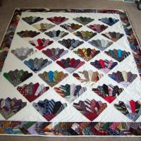 "Craft Projects: Necktie Quilt ""Tie quilt"" Free Pattern ..."