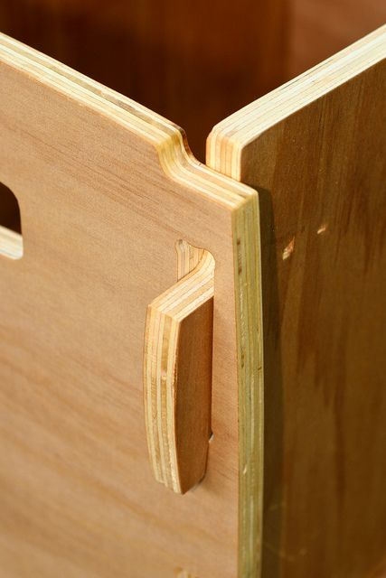 Plywood Cnc Box, Joint Detail By Phidauex, Via Flickr | Plywood