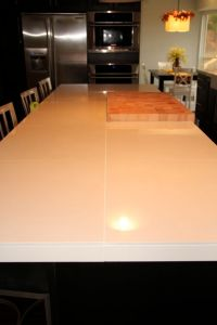 "rectified porcelain 24 x 24"" tiles as a countertop - from ..."