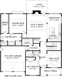 Two story house plans master down - Home design and style