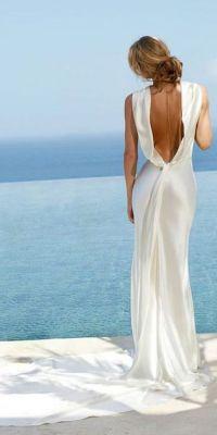 Beach wedding dresses, Beach weddings and Wedding dressses ...