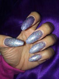 Coffin nails. Glitter nails. Long nails. Acrylic nails ...