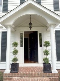 Our Colonial Home: The Before Tour | Walkways, Entryway ...