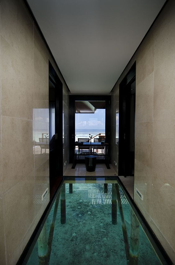 Glass Floor Beach Resorts And Maldives On Pinterest