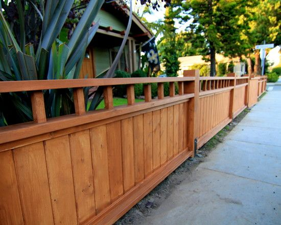 Craftsman Fence Provided By Harwell Fencing & Gates Inc. - Los