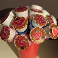 Valentine's day gift for him: k-cup bouquet, love note ...