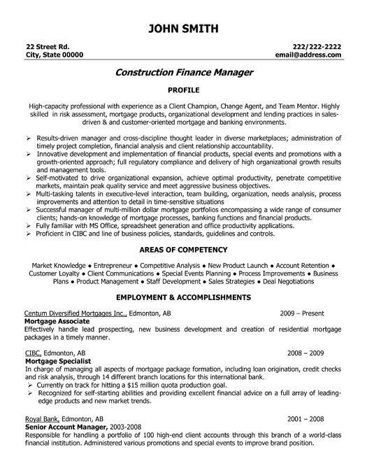 9 superintendent resume templates