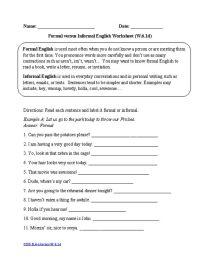 6th Grade  6th Grade Language Arts Common Core Worksheets ...