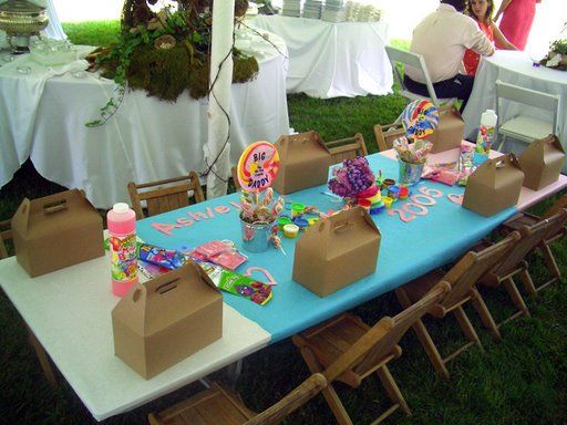 Kids Table Ideas For Entertaining Children At Your