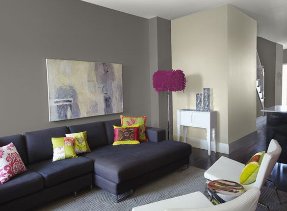 Living Room Ideas & Inspiration   Stones, Grey And Paint Colors