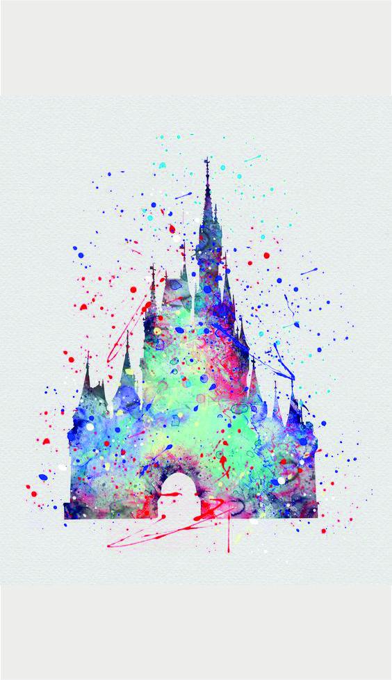 Tinkerbell Wallpaper For Iphone 6 Disney Castle Wallpaper Phone Wallpapers Pinterest