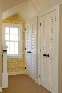Vented louver doors- ideal for closets and laundry rooms ...