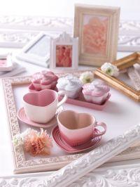 Heart-shaped tea cups | Dream Home | Pinterest | Le ...