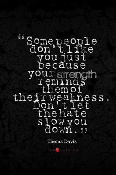 Thema Davis Quote About Strength Weakness Hate #iPhone 4s #Wallpaper Download | iPhone ...