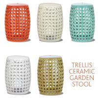 Ceramic garden stools, Garden stools and Outdoor side ...