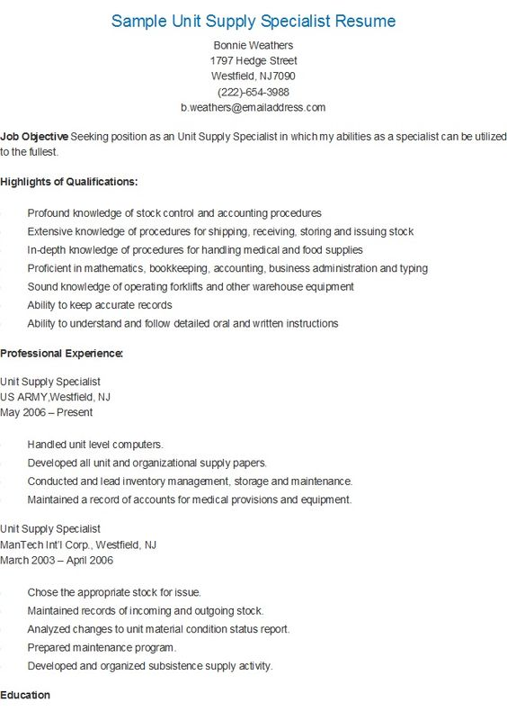 Him Clerk Resume How To Write A Resume Summary That Gets Interviews