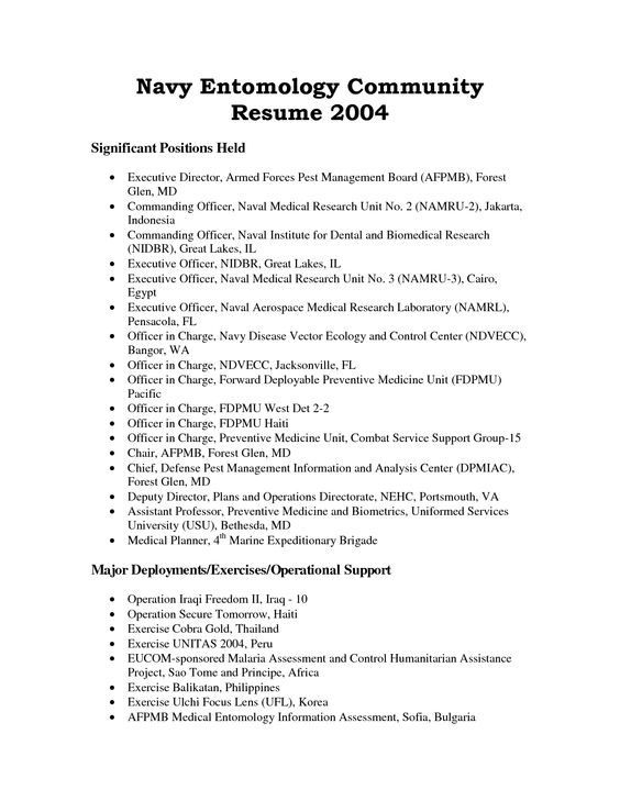 environmental science resume sample - environmental scientist resume