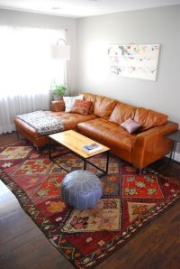 Classic living room, Leather sofas and Rugs on Pinterest