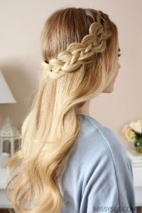 Four strand braids, Strands and Dutch braids on Pinterest