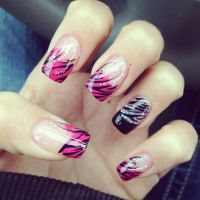 Christmas nail designs, Design and Xmas nail designs on ...
