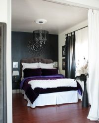 Layered colours and textures on the bed against a nice ...