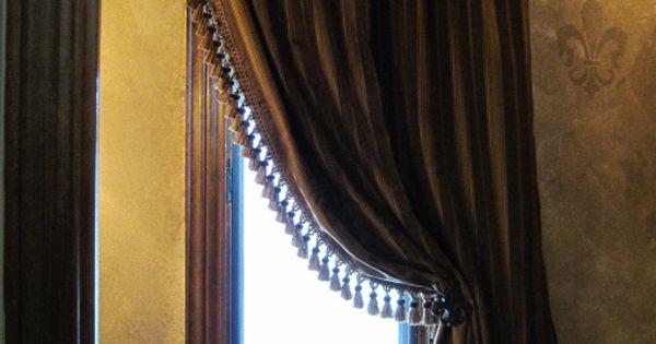 Old World Window treatment