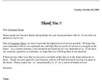 Free Printable Business Thank You Letter Template ...