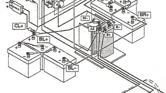 42 volt golf cart battery wiring diagram