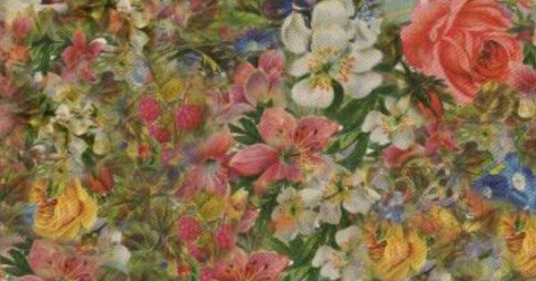 Floral Print Iphone Wallpaper Pretty Odd Backgrounds Pinterest