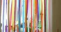 streamer rainbow - going to do in playroom doorway!   Fun ...